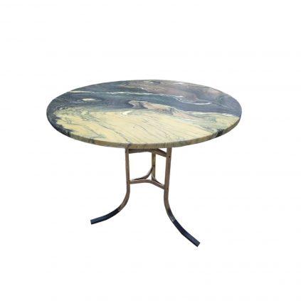 Tanskalainen vintage-marmoripöytä