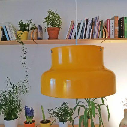 keltainen bumling riippuvalaisin 50cm