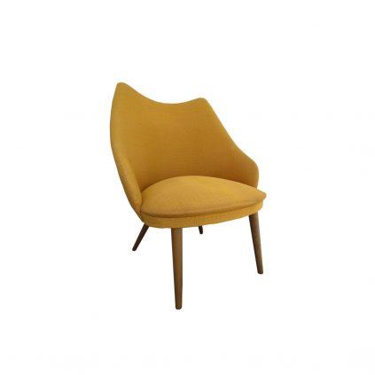 tanskalainen 50luvun nojatuoli
