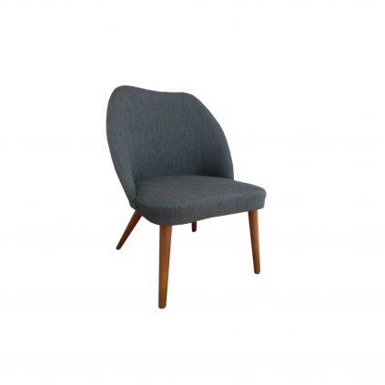 50 -luvun tanskalainen nojatuoli