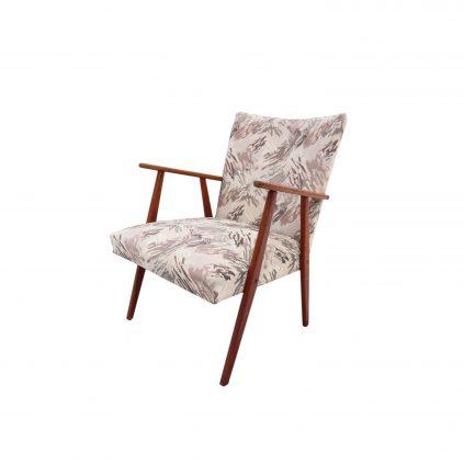 60 luvun tanskalainen nojatuoli