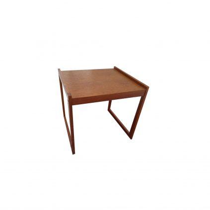 60-luvun tiikki-yöpöytä