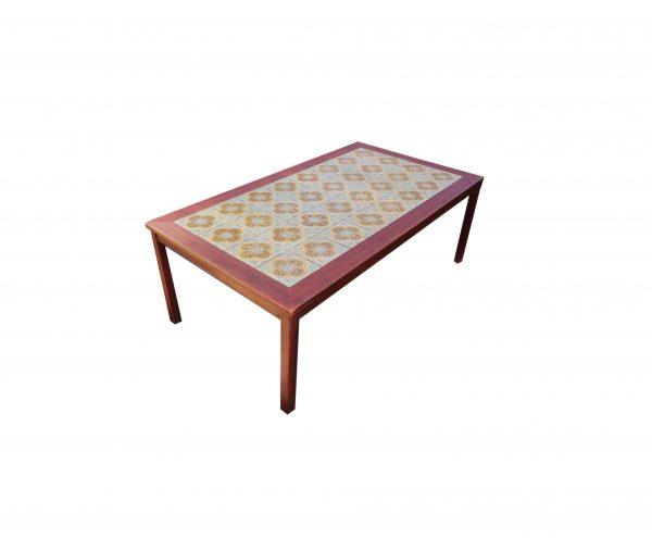 60 -luvun mosaiikki sohvapöytä