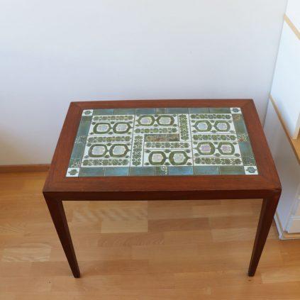 Tenera sivupöytä, Severin Hansen, Royal Copenhagen, Haslev møbelfabrik