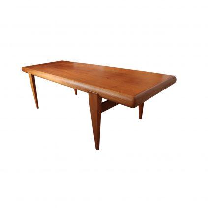 Teak sohvapöytä 60 -luvulta