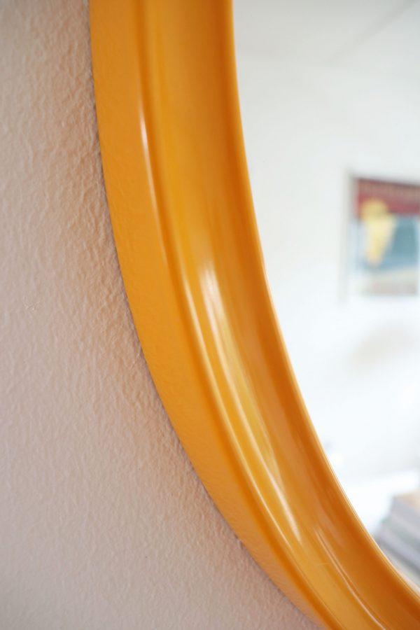 Keltainen termotex retropeili