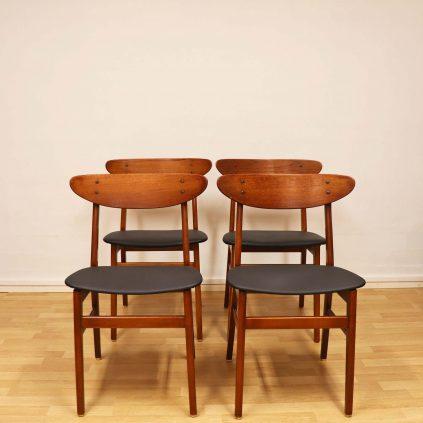 Farstrup ruokapöydän tuolit 60-luvulta