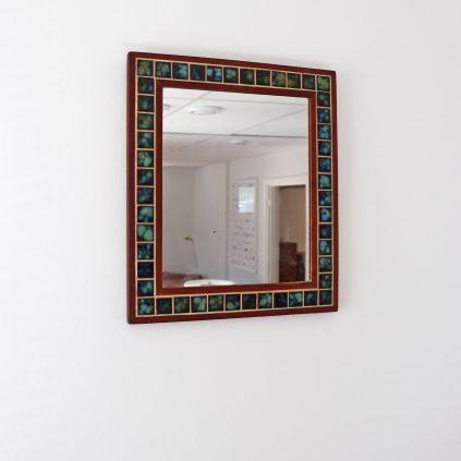 Mosaiikki-tiikkipeili