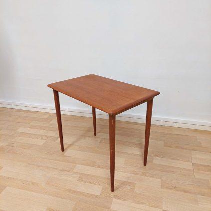 60-luvun teak sivupöytä