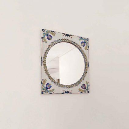 Royal copenhagen Aluminia Berte Jessen keraaminen peili 50-luvulta5