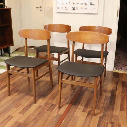 60 -luvun tanskalaiset ruokapöydän tuolit, SAX Møbler