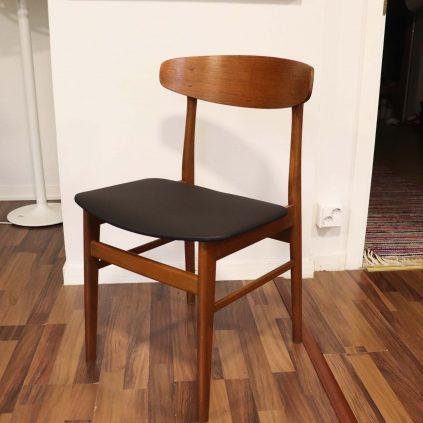 60 -luvun tanskalainen ruokapöydän tuoli, SAX Møbler